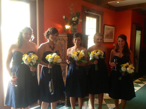 Wedding Flowers At Golden Mast