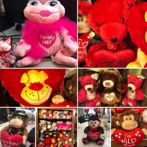 Stuffed Animals for Valentine's Day